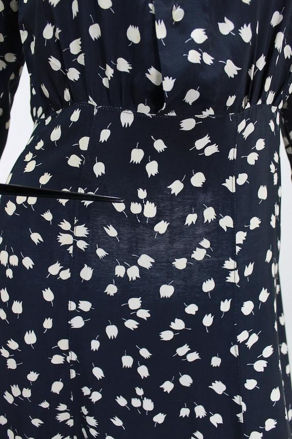 1930s Novelty Print Dress - 1930s Afternoon Dress… - image 8