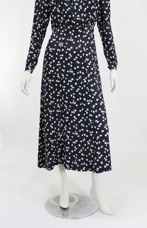 1930s Novelty Print Dress - 1930s Afternoon Dress… - image 4