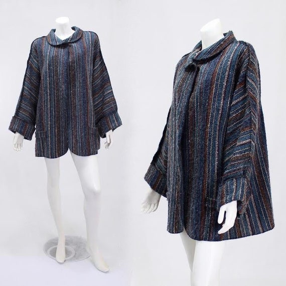 1960s Swing Jacket - Mohair Jacket - Mohair Swing