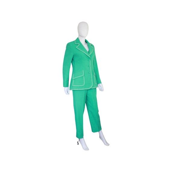 1970s Mint Green Lilli Ann Suit - 70s Womens 3 Pi… - image 5
