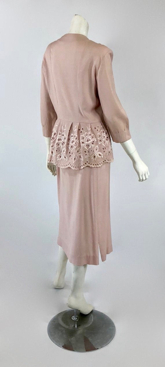1930s Womens Suit - Womens Pink Suit - 30s Pink S… - image 7