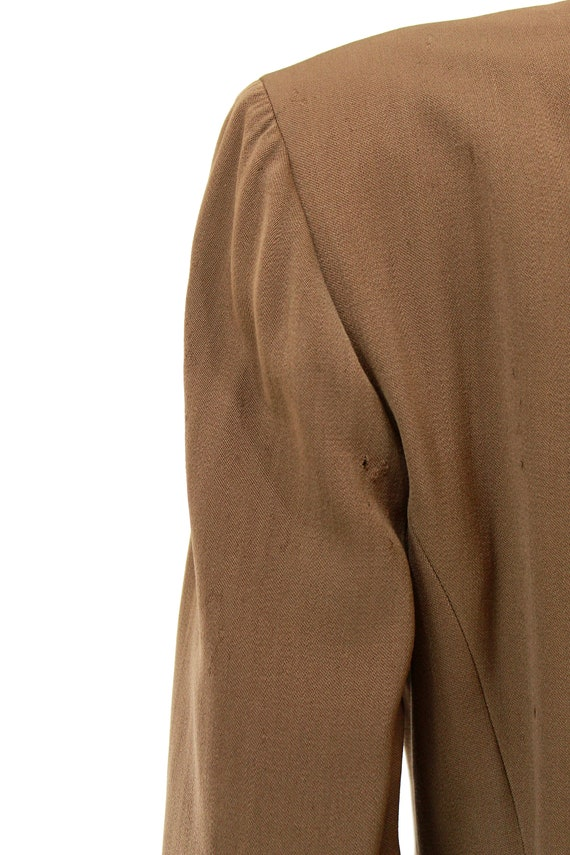 RESERVED | 1940s Womens Brown Suit - 1940s Brown … - image 9