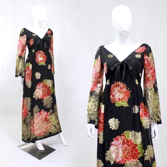 RARE 1960s Malcom Starr Dress - Elinor Simmons for