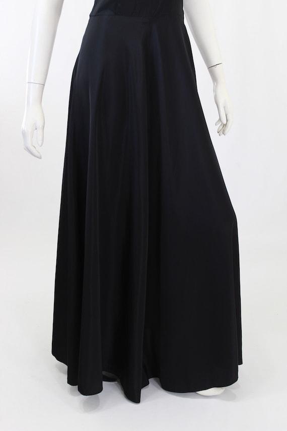 1930s Black Dress - 1930s Gown - 1930s Evening Go… - image 9