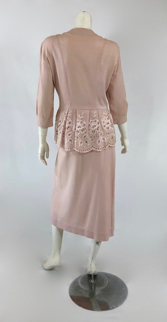 1930s Womens Suit - Womens Pink Suit - 30s Pink S… - image 5