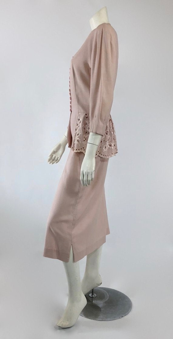 1930s Womens Suit - Womens Pink Suit - 30s Pink S… - image 6