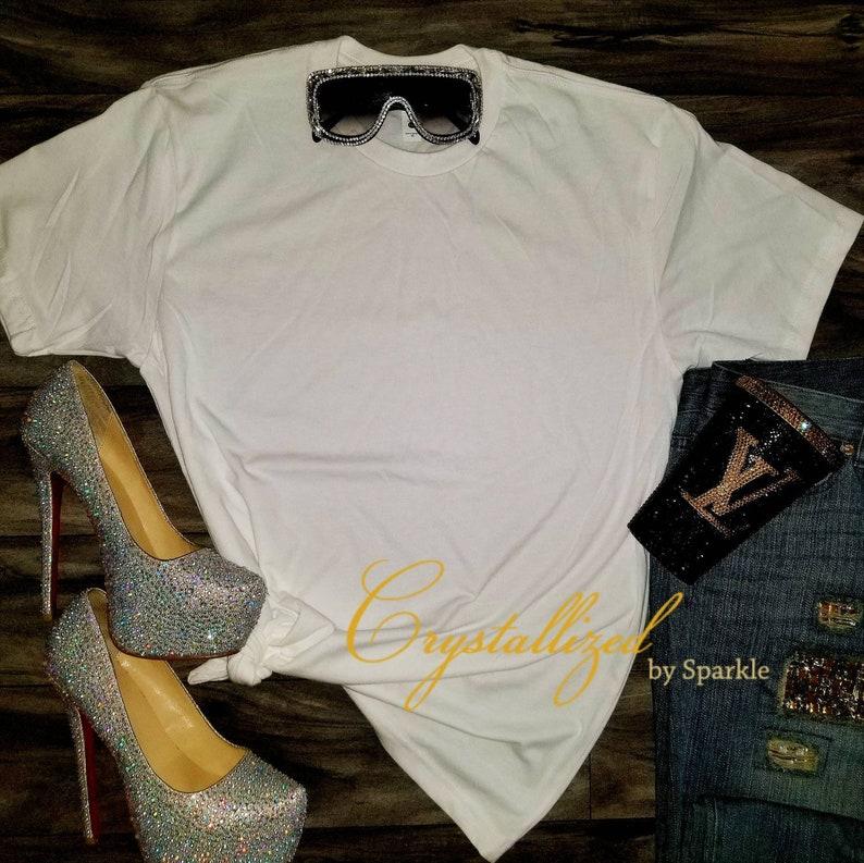 ae5f61025 Sparkle Gucci Inspired Crystallized Designer Inspired Bling | Etsy