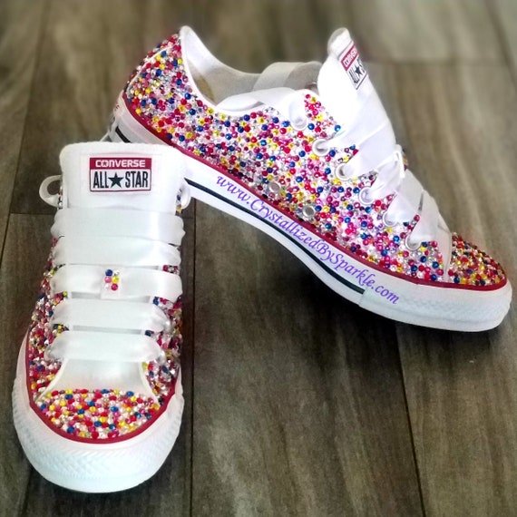 df12f0c74b65 Candy Coated Chuck Taylor All Stars Adorned with Swarovski®