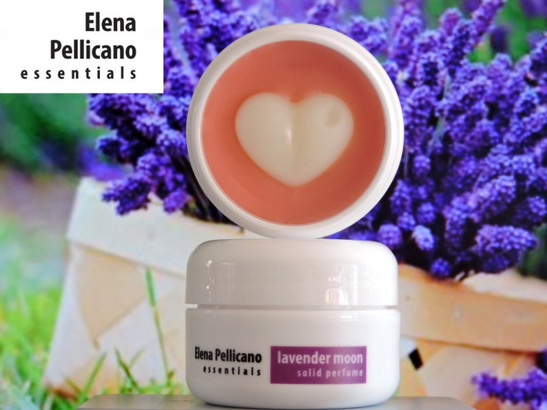 LAVENDER MOON Solid Perfume by Elena Pellicano Essentials 15 image 0
