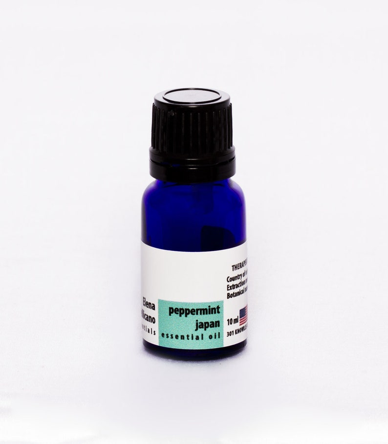 Peppermint 100% Certified Organic Essential Oil from Indonesia image 0