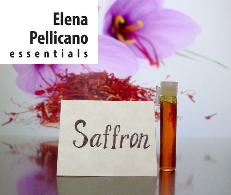 Saffron 100% Pure Essential Oil Concentrate EXTREMELY RARE image 0