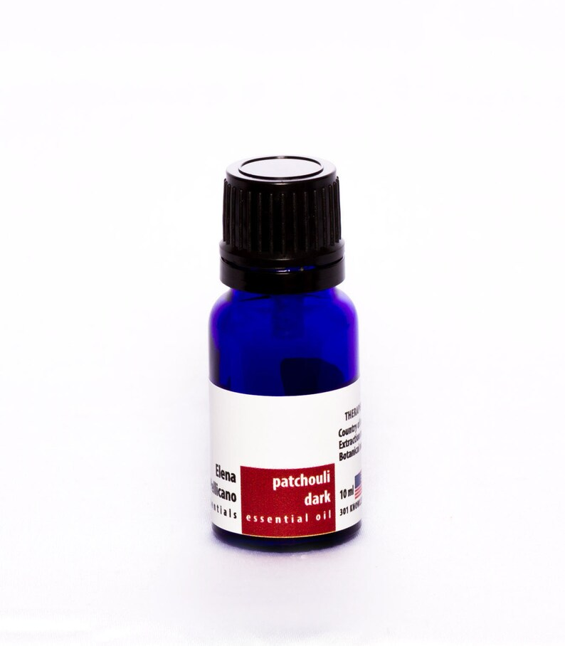 Patchouli Dark 100% Essential Oil from Indonesia 10ml image 0