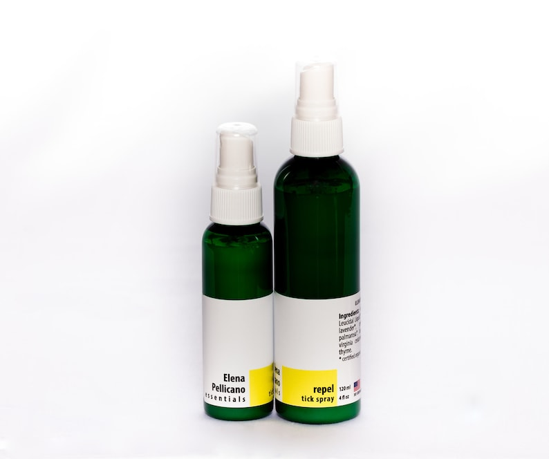 Tick Repellent Bug Spray  100% Natural with Essential Oils image 0