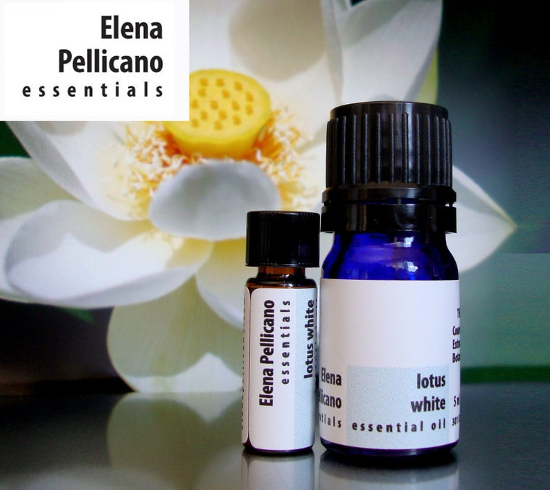 Lotus White 100% Pure Essential Oil image 0