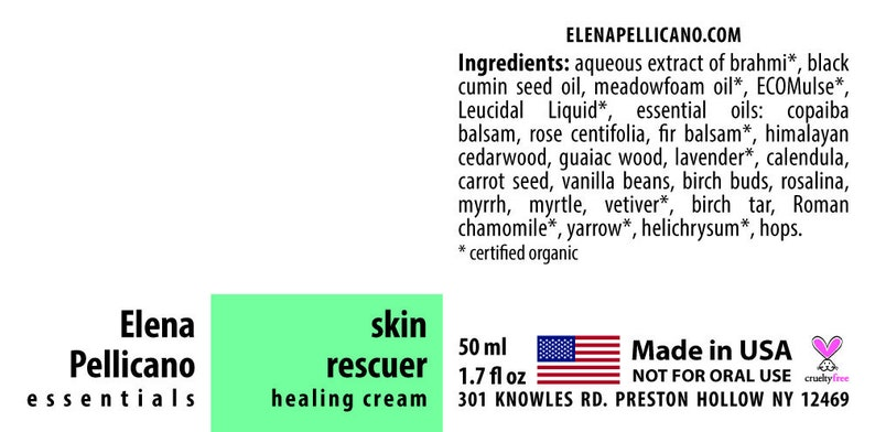 Skin Rescuer  Healing Cream 1.7 oz image 0