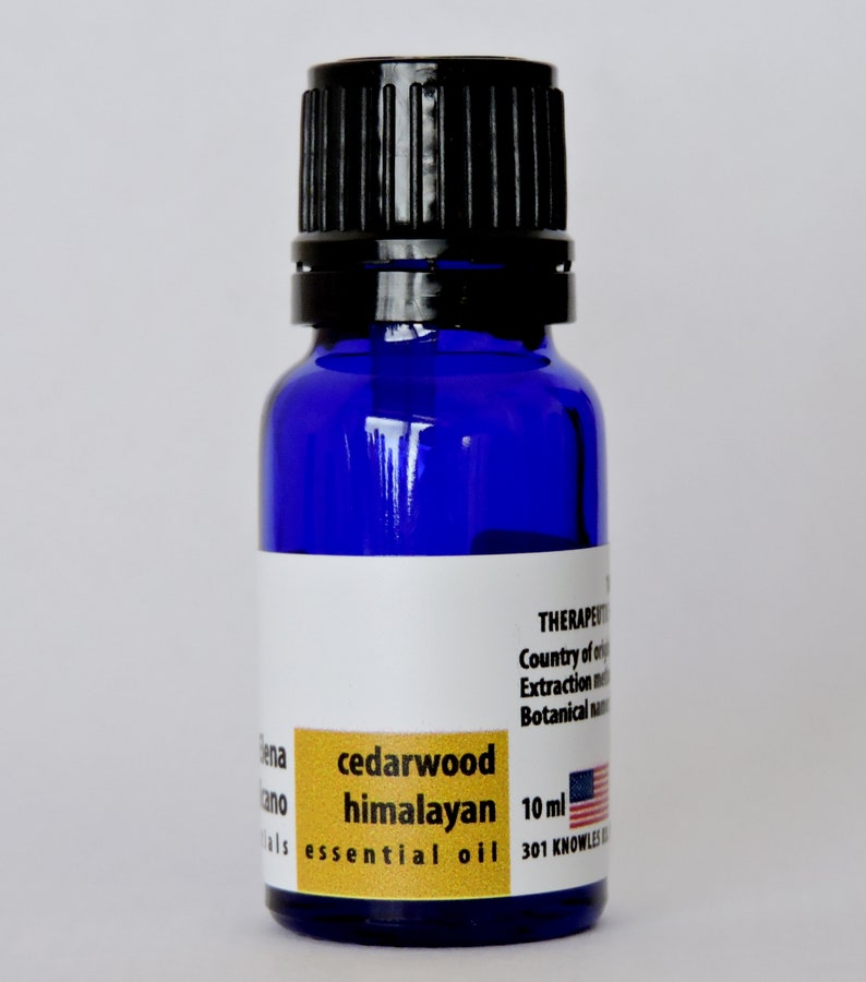 Cedarwood Himalayan 100% Pure Essential Oil from India 10ml image 0