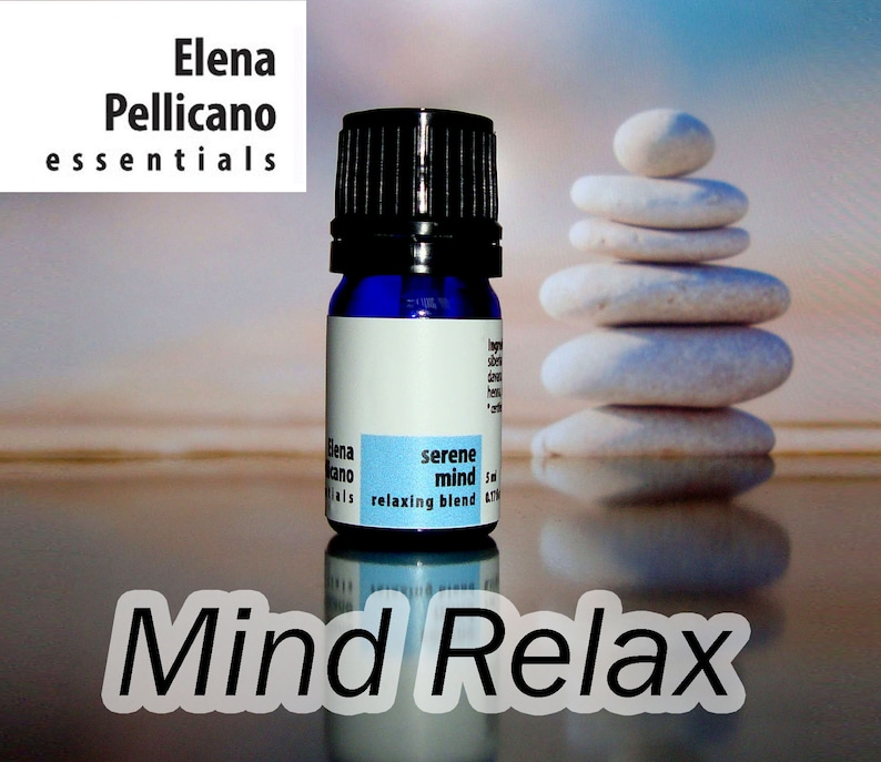 Serene Mind  Essential Oil Blend for Calming Stress Relief image 0