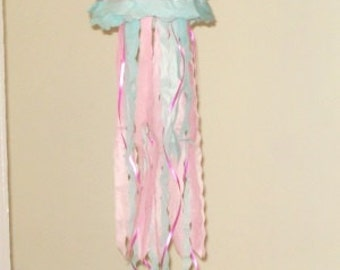 Pink Jellyfish Paper Lanterns. Party Decorations, Baby Shower, Room Decor, nursery decor.
