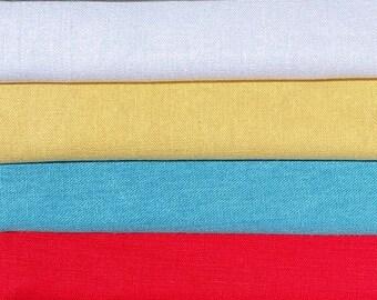 "54"" Linen & Cotton Lithuanian European Woven Fabric By the Yard"