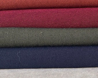 """60"""" Cashmere Brushed Alpaca Rayon Spandex with Stretch 200 GSM Knit Fabric By the Yard"""