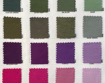 """Wholesale only — 200 GSM Rayon Spandex Jersey 4-Way Stretch 58"""" Knit Fabric for Wholesale Only"""