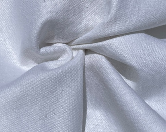 """58"""" 100% Cotton Gabardine Heavy 7 OZ Woven Fabric For Sheets and Lining By the Yard"""