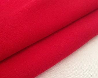 "60"" 100% Lyocell Tencel Gabardine Twill Eco Friendly Rose Red Medium Weight Preshrunk Woven Fabric By The Yard"