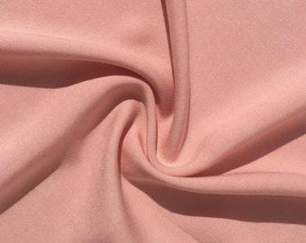 "60"" Lavender Pink 100% Lyocell Tencel Gabardine Twill Eco-Friendly Medium Weight Woven Fabric By The Yard"