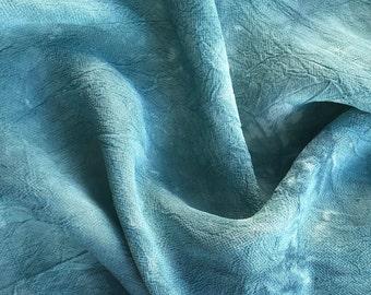 "54"" Sky Blue 100% Tencel Lyocell Cupro Georgette 4.5 OZ Light Woven Fabric By the Yard"