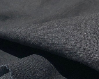 """60"""" 100% Cotton Sheeting Black Light Woven  Fabric By the Yard"""