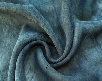 "44"" Dark Green 100% Tencel Lyocell Cupro Georgette 4.5 OZ Light Woven Fabric By the Yard"