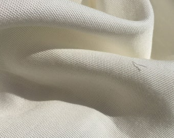 """60"""" PFD 100% Lyocell Tencel Canvas Medium Weight Off White Woven Fabric By the Yard"""