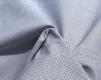 """58"""" 100% Cotton Poplin Checkered Check Apparel &  Woven Fabric By the Yard"""