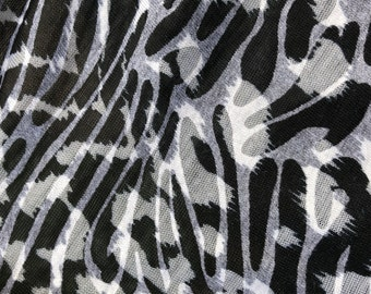 """60"""" Cotton Devore Burn Out Jersey Knit Fabric By the Yard"""