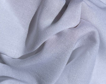 """56"""" 100% Cotton Lawn  4 OZ White Woven Fabric By the Yard"""