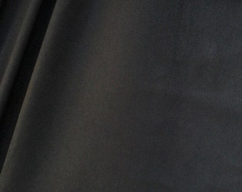 """60"""" 100% Cotton Twill 7 OZ Black Apparel &  Woven Fabric By the Yard"""