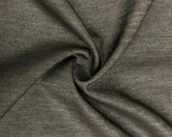 """58"""" Cotton Chambray Denim Charcoal Gray Black Apparel &  Woven Fabric By the Yard"""