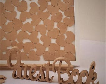 Guest Book free standing sign