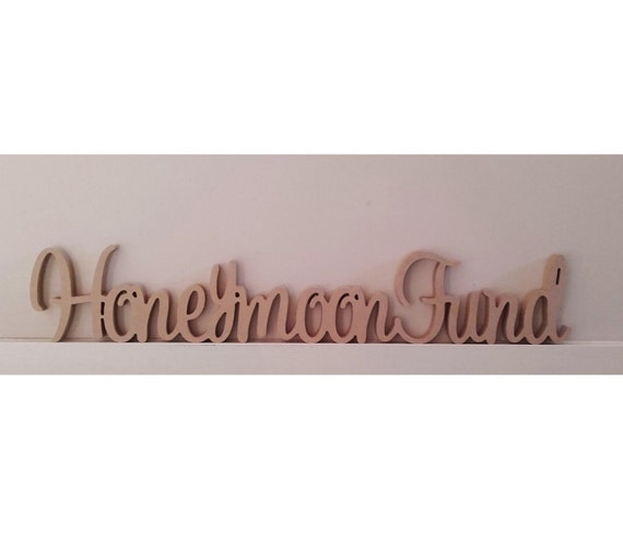 Kids Letters Free Standing 20cms high Wooden Name Sign Baby UNPAINTED Raw MDF