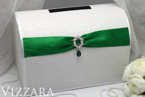 Smaragd Wedding Money Box Gift Card Box For Wedding Reception Etsy