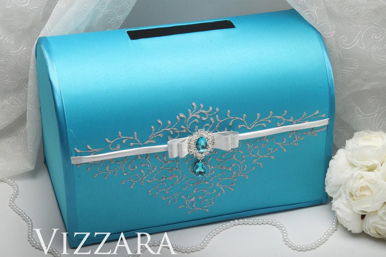 свадебная коробка для денег