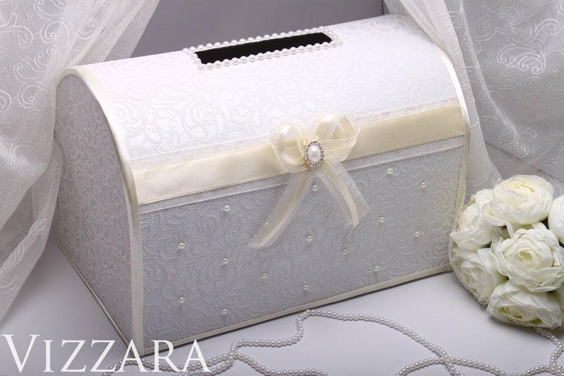 Wedding Card Box Ideas.Ivory Wedding Card Box Ideas Wedding Money Box Wedding Gift Box Custom Box Made To Order Wedding Card Holder For Engraved Wedding Date