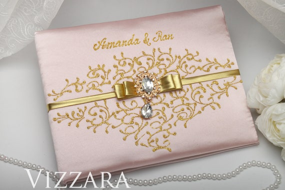 Guest Book Ideas Blush Wedding Personalized Guest Book Blush Gold Wedding Creative Wedding Guest Book Ideas Blush Pink And Gold Wedding