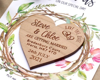 Sheer Save the Date Invites