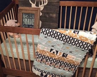 Rustic Baby Quilt