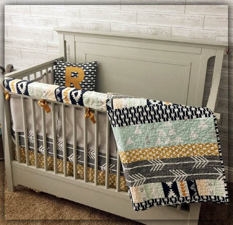 New 7 Pcs Baby Bedding Set Baby Cot Crib Bedding Set Cartoon Animal Baby Crib Set Quilt Bumper Sheet Skirt Harmonious Colors Baby Bedding Mother & Kids