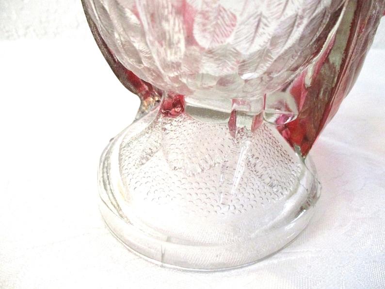 Depression Glass Turkey Lidded Serving Bowl