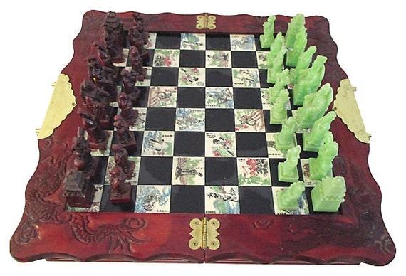 Asian chess set