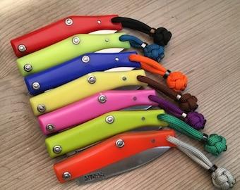 EDC knife Mod/Custom Pallares Solsona N º 00 Inox/Colors