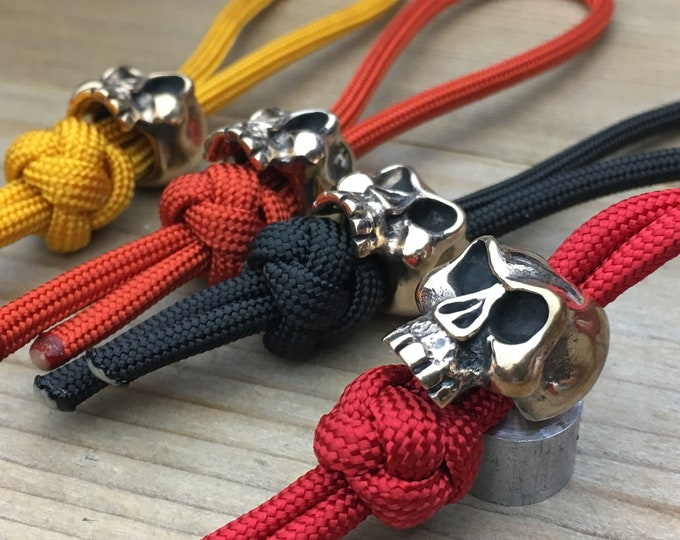 knife landyard Bead / The Skull Monkey
